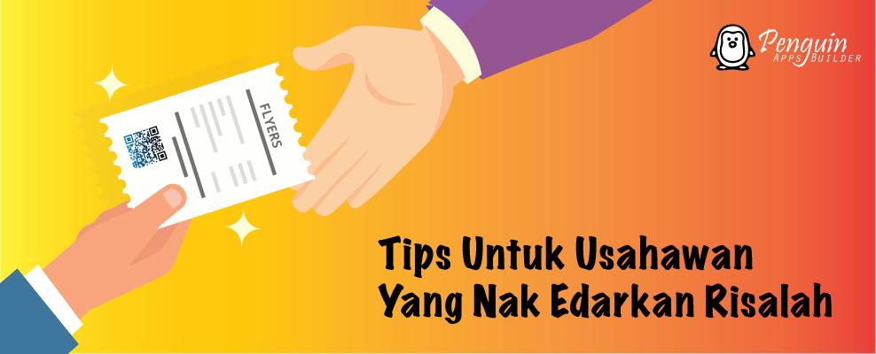 Tip Edaran Risalah